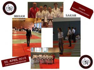 Glückwunsch Miriam & Sarah